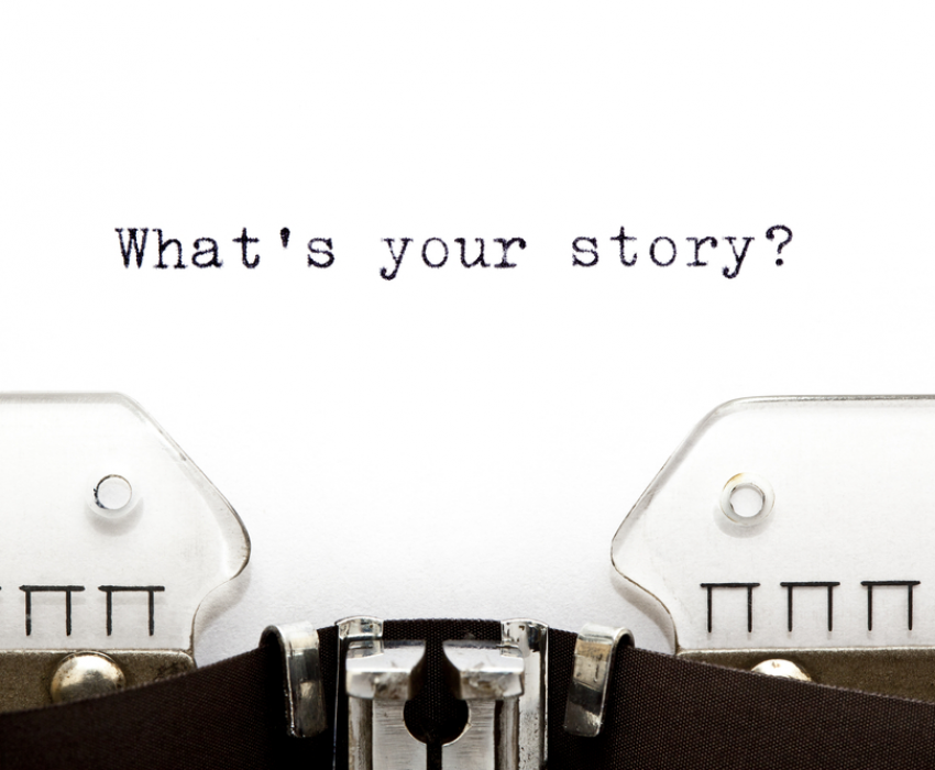 what's your story on a typewriter